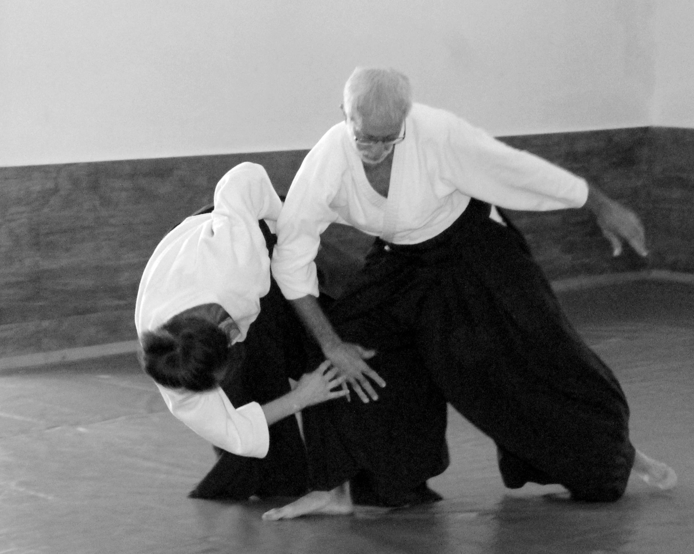 Aikido con Javier de María
